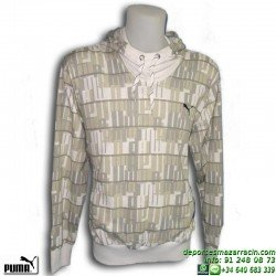 Sudadera PUMA GRAPHIC HOODED SWEAT (S.T.G.) 807151-05 Blanco Hombre