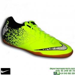 NIKE BOMBAX IC zapatilla Futbol Sala Amarilla 826485-710 personalizar