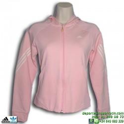 Sudadera ADIDAS GL 3Si FZ Hood 603401 Chica Rosa niña deporte