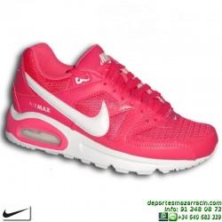 Nike AIR MAX COMMAND Rosa Sneakers CAMARA de AIRE 407626-616 Zapatilla