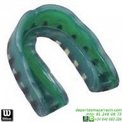 Protector Bucal WILSON Triple Densidad Adulto Mouth Guard WTFMG2006