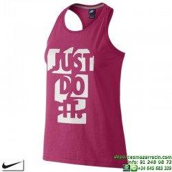 Camiseta Tirantes Mujer Nike PREP TANK 725806-616 Rosa