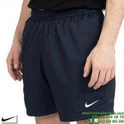 Pantalon Corto Nike Flow Short azul marino 727737-451 Tenis Padel
