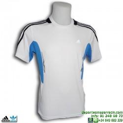 Camiseta Deporte Adidas YB C TEE Blanca Junior V36298 climacool