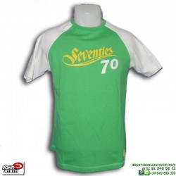 Camiseta John Smith GERANT Verde Junior manga corta algodon