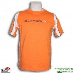 Camiseta John Smith SUPERBE Naranja Junior manga corta algodon