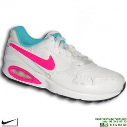 Nike AIR MAX ST Blanco-Rosa sneakers Camara de Aire 653819-106 mujer chica footwear personalizar