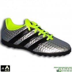 Adidas ACE 16.4 NIÑOS TURF PLATA Zapatilla Futbol Calle S31980 bota futbol  JUNIOR James Kroos Koke Rakitic
