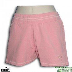 Pantalón Corto Chica PUMA Sweat Short 804059-02 Rosa