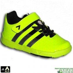 Adidas ACE INFANT NIÑO BABY AMARILLO VELCRO S75978 zapatilla futbol
