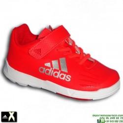 Adidas X INFANT ROJA VELCRO infantil niño baby AQ2800 zapatilla futbol bale luis suarez SOCCER personalizar