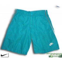 Bañador Bermuda NIKE BEACH SHORT Junior verde agua 219439-300 playa piscina niño