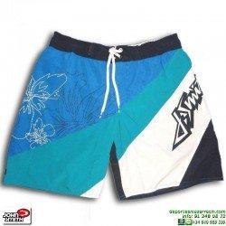 Bañador Bermuda John Smith BELMEZ azul blanco Hombre Short piscina playa
