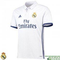 Camiseta REAL MADRID 2016-2017 BLANCA 1ªEquipacion Adidas S94992 Oficial futbol
