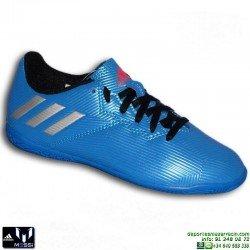 Adidas MESSI 16.4 NIÑOS AZUL Zapatilla Futbol Sala S79650 JUNIOR SOCCER personalizar