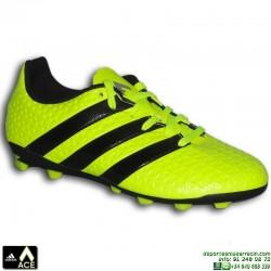 Adidas ACE 16.4 NIÑOS Amarilla Fluor Bota Futbol Tacos FxG S42144 James Kroos
