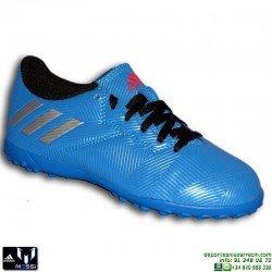 Adidas MESSI 16.4 NIÑOS AZUL Zapatilla Microtacos TURF S79660 Hierba artifical personalizar