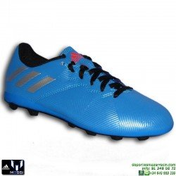 Adidas MESSI 16.4 NIÑOS AZUL Bota Futbol tacos FxG S79648 JUNIOR SOCCER Hierba artifical personalizar