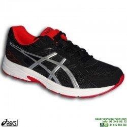 Asics GEL CONTEND 3 Deportiva Running Negro-Rojo Hombre T5F4N-9091 zapatilla correr pisada neutra PERSONALIZAR