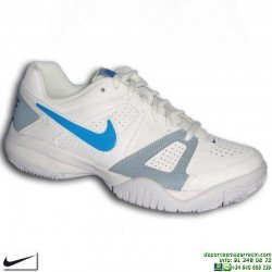 Zapatilla Tenis Junior Nike CITY COURT 7 Blanco 488325-144 niño padel