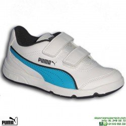 zapatilla-deporte-infantil-puma-stepfleex-fs-sl-v-inf-velcro-187367-16-blanco-azul-personalizar