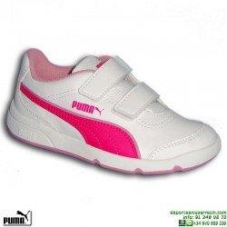 zapatilla-deporte-infantil-puma-stepfleex-fs-sl-v-inf-velcro-187367-18-blanco-rosa-nina-personalizar