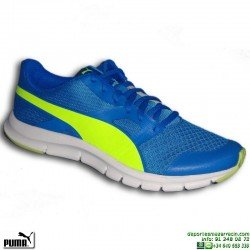 Zapatilla Deporte Junior PUMA FLEXRACER Azul 189208-04 running correr