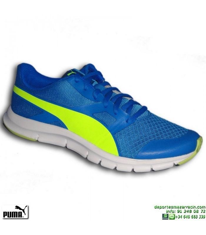 Junior Azul Puma Deporte Correr Flexracer 189208 04 Running Zapatilla Bx5Oqx