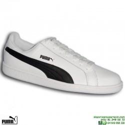 Zapatilla Clasica Piel PUMA SMASH L Blanco hombre 356722-11 sneakers MODA personalizar