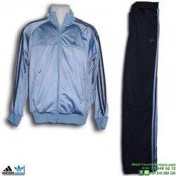 Chandal Junior ADIDAS ESS PES SUIT OH Azul poliester acetato 088636