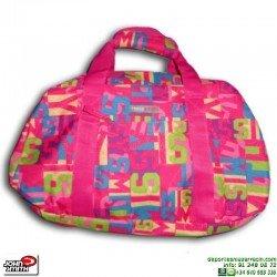 Bolsa de Deporte para Mujer John Smith Rosa B16204 maleta gimnasio fitness natación