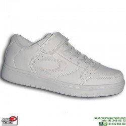 Zapatilla niño John Smith Smith VILAC Blanca Air Force 1 velcro