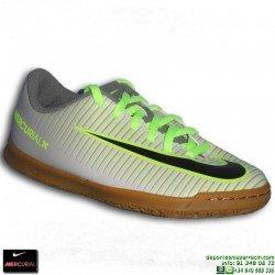 Nike MERCURIAL VORTEX 3 NIÑO CR7 Zapatilla Futbol Sala 831953-003 Gris-Negro cristiano ronaldo