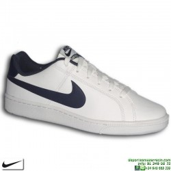 Deportiva Clasica Nike COURT ROYALE Blanco-Marino  749747-140 Hombre sneakers personalizable