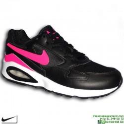 Sneakers Nike AIR MAX ST Negro-Rosa Camara de Aire 653819-008 chica footwear personalizar
