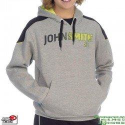 Sudadera Niño Capucha John Smith VAREDO Gris algodon junior canguro
