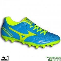 Bota Futbol Mizuno MORELIA NEO CLUB AG Piel azul Hierba Artificial P1GA165844 clasica