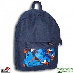 Mochila Escolar Azul Marino Economica John Smith MRC403