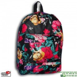 Mochila Escolar Flores John Smith M16225