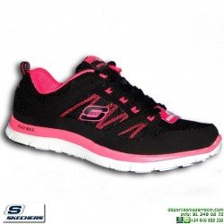deportiva-skechers-flex-appeal-spring-fever-mujer-negro-memory-foam-11727bkhp-personalizable
