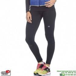 Malla Running Mujer Larga JOHN SMITH PALMI Negro correr atletismo