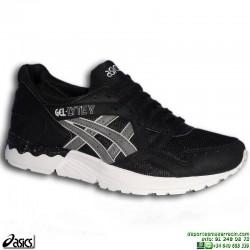 Sneakers ASICS GEL-LYTE V Negro-Gris Hombre HN6A4-9011 deportiva Footwear
