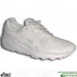 Sneakers ASICS GEL KAYANO TRAINER EVO Blanca Hombre HN6A0-0101 zapatilla deportiva
