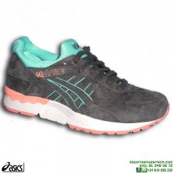 Sneakers ASICS GEL-LYTE V Gris-Coral Mujer H6R9L-1616 deportiva