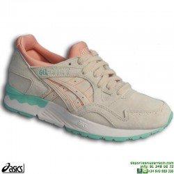 Sneakers ASICS GEL-LYTE V Beige-Rosa Mujer H6R9L-2121 zapatilla deportiva Footwear