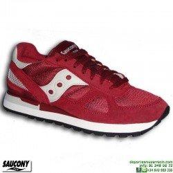 Sneakers SAUCONY SHADOW ORIGINAL Rojo Burdeos S2108-628 Hombre zapatilla deportiva