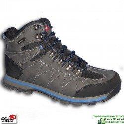 Bota Montaña JOHN SMITH +8000 TRACOR Gris deportiva zapatilla Trekking Senderismo trail