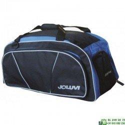Bolsa Deporte Mediana JOLUVI CLUB CURVE Negro-Azul 228829-21.01
