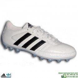 Bota Futbol Adidas GLORO 16.1 AG Tacos Hierba artificial Blanco Hombre BB3858 piel natural