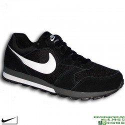 Zapatilla Nike MD RUNNER 2 Negro-Blanco Deportiva clasica hombre 749794-010 sneakers personalizable